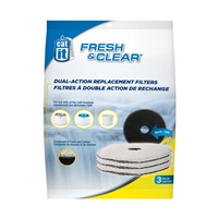 Catit Design Fresh & Clear Foam/Carbon Filters - 3 pack