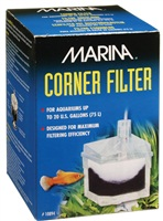 Marina Corner Filter With Airstone