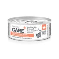 Nutrience Care Sensitive Skin & Stomach Pâté for Cats - Fresh Salmon Recipe - 156 g (5.5 oz)