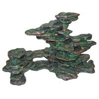 Marina Polyresin Ornament Slate Rock Scape - Medium - 52 x 28.5 x 38 cm (20.5 x 11.2 x 15 in)