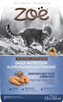 Zoë Cat Daily Nutrition - Chicken with Sweet Potato & Quinoa Recipe - 2.5 kg