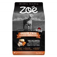 Zoë Dog Grain Free, Turkey with Pumpkin & Russet Potato Recipe - 2 kg (4.4 lbs)