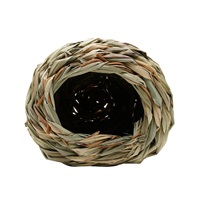 Living World Hangout Grass Hut - Small - 14 x 14 x 11.4 cm (5.5 x 5.5 x 4.5 in)