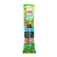 Living World Budgie Sticks - Fruit Flavour - 60 g (2 oz) - 2 pack