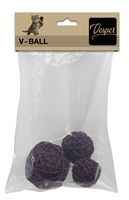 Catit Vesper V-Ball - Brown Rattan - 5/6/8 cm