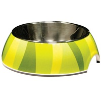 Catit Style  2-in-1 Cat Dish - Jungle Stripes - 160 ml (5.4 fl oz)