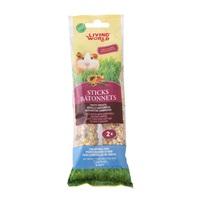 Living World Guinea Pig Sticks - Fruit Flavour - 112 g (4 oz) - 2 pack
