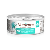 Nutrience Grain Free Turkey, Chicken & Duck Pâté for Indoor Cats - 156 g (5.5 oz)