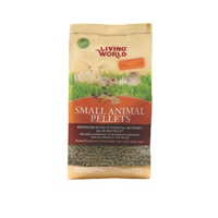 Living World Small Animal Pellets - 900 g (2 lbs)