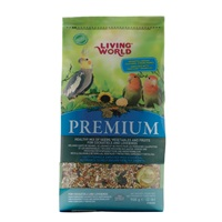 Living World Premium Mix for Cockatiels and Lovebirds - 908 g (2 lbs)