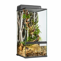 "Exo Terra Advanced Paludarium & Rainforest Terrarium - Small X-Tall - 45 W x 45 D x 90 H cm (18"" x 18"" x 36"")"
