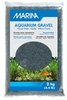 Marina Black Decorative Aquarium Gravel - 2 kg (4.4 lb)