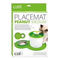 Catit Peanut Placemat Medium - Green