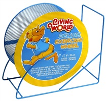 "Living World Deluxe Exercise Wheel - Blue - 22.5 cm (9"")"