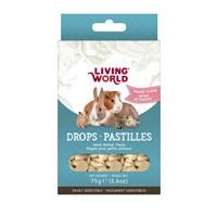 Living World Small Animal Drops - Yogurt Flavour - 75 g (2.6 oz)