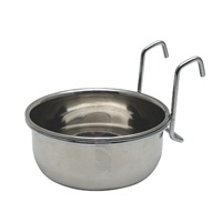 Living World Stainless Steel Dish - 567 g (20 oz)