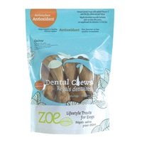 Zoe Lifestyle Treats for Dogs - Antioxidant Dental Chews - Medium - 243 g (8.5 oz)