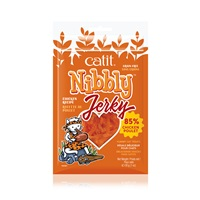 Catit Nibbly Jerky Chicken Recipe - 30 g (1 oz)