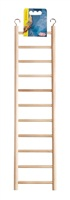 Living World Wooden Bird Ladder - 11 Steps - 43 cm (17 in) Long