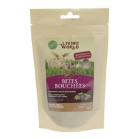Living World  Small Animal Bites with Quinoa - 50 g