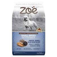 Zoë Small Breed Dog Food - Chicken, Quinoa and Black Bean Recipe - 2 kg
