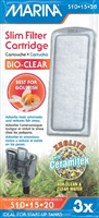 Marina Bio Clear Cartridge for Slim Filters - 3 pack