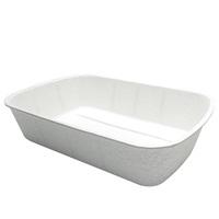 Catit Clean Eco Cat Pan - 47.8 L x 11.5 H x 32.8 W cm (18.8 in x 4.5 in x 12.9 in)