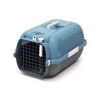 Catit Cat Carrier - Medium - Blue-Grey - 56.5 L x 37.6 W x 30.8 H cm (22 x 14.8 x 12 in)