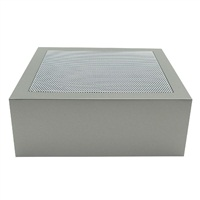 Fluval Edge replacement hood with screen, Pewter