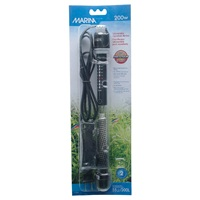 "Marina Submersible Pre-Set Aquarium Heater - 200 W - 27 cm (10.6"")"