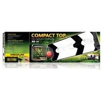 "Exo Terra Compact Top - 60 x 9 x 20 cm (23.6"" x 3.5"" x 7.8"")"