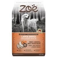Zoë Large Breed Dog Food - Turkey, Chickpea and Sweet Potato Recipe - 11.5 kg