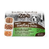 Zoë Tempting Trios Pâté with Tuna, Cuts of Chicken, Sweet Potatoes & Pumpkin - 100 g (3.5 oz)