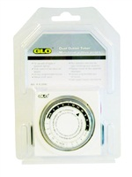 Glo Dual Outlet Timer - CE