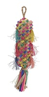 Living World Nature's Treasure Bird Toy Colorful Buri Lantern - For Medium Hookbills