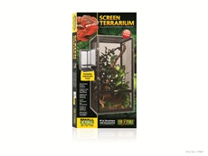 "Exo Terra Screen Terrarium – Small/Tall – 45 cm x 45 cm x 60 cm (18"" x 18"" x 24"")"