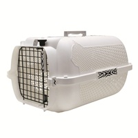 Catit Style Profile Voyageur Cat Carrier - White Tiger - Medium - 56.5 cm L x 37.6 cm W x 30.8 cm H (22 in x 14.8 in x 12 in)