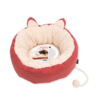 "Catit Vesper Cat Bed - Large - Red - 50 x 50 x 20 cm (19.6"" x 19.6"" x 7.8"")"