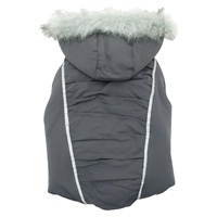 Dogit Style 2012 Fall/Winter Collection for Large dogs – Puffer Vest - Gray