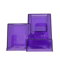 Habitrail OVO Replacement Hiding Cube in Transparent Purple for OVO Pink Edition