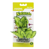 "Marina Naturals Green Foreground Silk Plant - 12.5 - 15 cm (5-6"")"