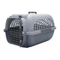 Dogit Voyageur Dog Carrier - Light Grey/Charcoal - Small - 48.3 cm L x 32.6 cm W x 28 cm H (19 in x 12.8 in x 11 in)