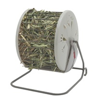 "Living World Hay - Wheel - 13 cm L X 13 cm W X 15 cm H (5.1"" x 5.1"" x 7"")"