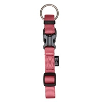 "Zeus Adjustable Nylon Dog Collar - Salmon - XLarge - 2.5 cm x 42 cm-65 cm (1"" x 16""-26"")"