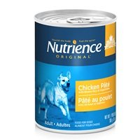 Nutrience Original Healthy Adult - Chicken Pâté with Brown Rice & Vegetables - 369 g (13 oz)