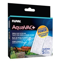 Fluval Aquavac+ Replacement Fine Filter Pad (5 Pack)