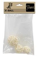 Catit Vesper V-Ball - Light Rattan - 5/6/8 cm