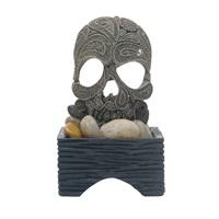 """Marina Betta Skull Ornament - 5.7 cm x 5.7 cm x 10.7 cm (2.25"""" x 2.25"""" x 4.25"""")"""
