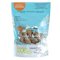 Zoe Lifestyle Treats for Dogs - Antioxidant Dental Chews - Small - 229 g  (8.1 oz)
