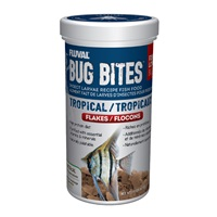 Fluval Bug Bites Tropical Flakes - 90 g (3.17 oz)
